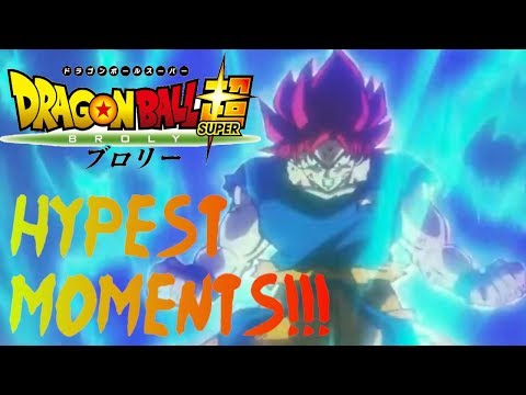 Top 5 Most Hype Moments in the  Dragon Ball Super Broly Movie!