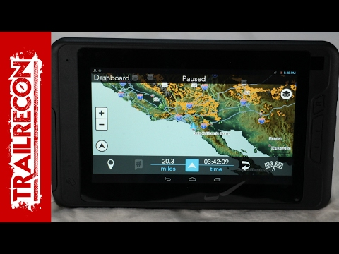 Magellan eXplorist TRX7 Review Off-Road GPS Navigation