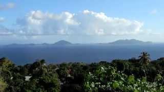 preview picture of video 'Les Saintes vues depuis Trois-Rivières - Guadeloupe'