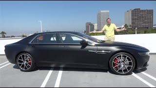 The Aston Martin Lagonda Taraf Is the World's Most Expensive Luxury Sedan