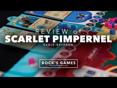 Bock's Games Review: Scarlet Pimpernel
