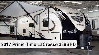 2017 Prime Time LaCrosse 339BHD   Travel Trailer