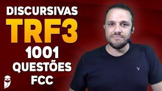 TRF3: Direito Processual Civil - 1001 Questões FCC