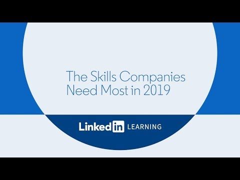Skills Companies Need Most in 2019
