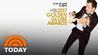 Golden Globes Top Contenders Jimmy Fallons Secret Opening Number  TODAY