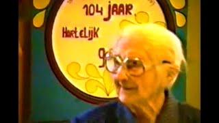1987 – Cis Maton viert 104-jarige leeftijd