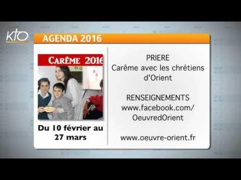 Agenda du 5 février 2016