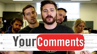 FELL IN LOVE WITH A GIRL? - Funhaus Comments #26