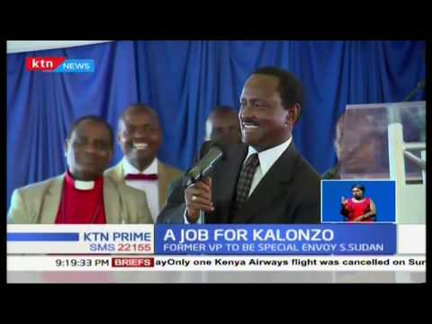 Kalonzo's new job generates political heat in Ukambani
