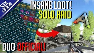 INSANE LOOT FROM SOLO RAID!   Duo Official PvP - Ep. 8 - Ark: Survival Evolved
