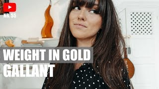 Weight In Gold - Gallant (Cover) By ELINA SEGALL
