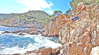 CLIFF JUMPING IN PARADISE!