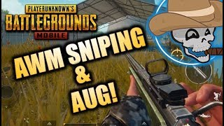 PUBG MOBILE - Do you know what the Coriolis effect is? Awesome AWM and AUG gameplay!