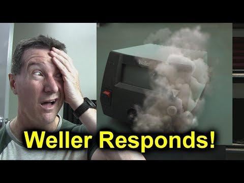 EEVblog #1160 - Weller Responds!