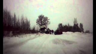 preview picture of video 'Wypadek Czyżew - Wysokie Mazowieckie 28.01.2014'