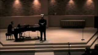 """Cahen Taylor sings """"I Hold Your Hand in Mine"""" by Tom Lehrer"""
