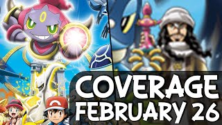 Hoopa  - (Pokémon) - HOOPA VS. ARCEUS and the Mystery of the Prison Bottle?! - Pokémon Coverage February 26 2015