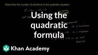Quadratic Formula 3