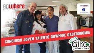 Grande final do CONCURSO JOVENS TALENTOS DA GASTRONOMIA realizado pela REVISTA DE SUCESSO GOWHERE Ga