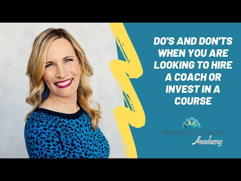 Financial Coach Training - Do's and Don'ts When Hiring a Business ...