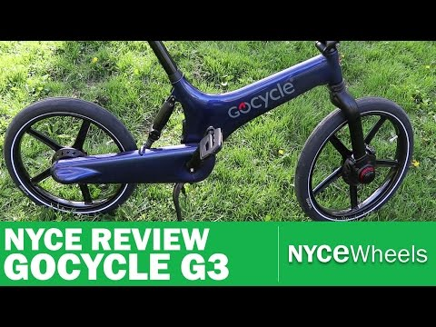 GoCycle G3 – High Tech Electric Bike Review
