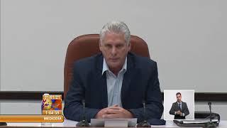 Presidente de Cuba felicita al pueblo