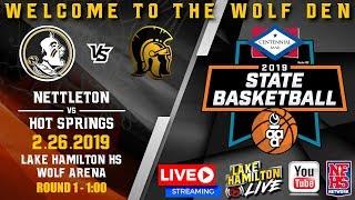 Nettleton vs Hot Springs | 5A Girls State Basketball | February 26, 2019