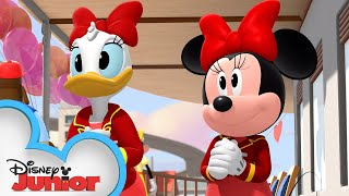 Happy Helpers Valentines Day Party!💞| Mickey Mouse Roadster Racers | Disney Junior