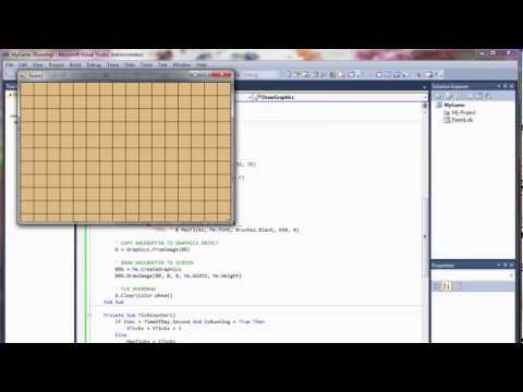 Visual Basic Game Programming Tutorial – Part 1 – Building a Game Loop and Frame Counter