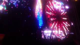 The tunnel at EDC Las Vegas, NV  2016