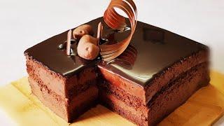 تحميل اغاني إعملى تورتة موس الشوكولاتة كالمحترفين  Chocolate Mousse Cake MP3