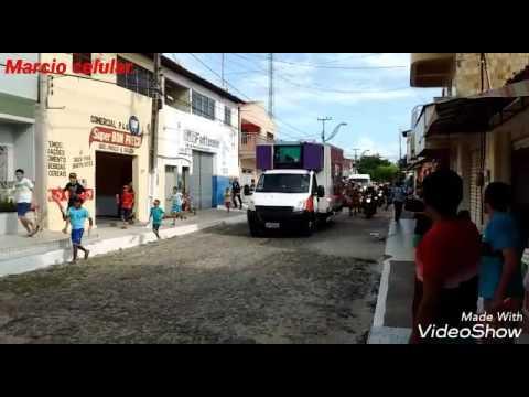 Tocha olímpica passa em Barroquinha Ce.