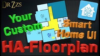 Use Your Floor Plan To Control Your Smart Home | Home Automation | HA-Floorplan
