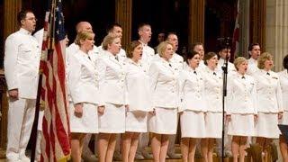 Navy Band Sea Chanters sing patriotic music