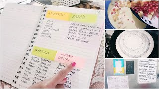 Indian Weekly Meal Planning & Preparation