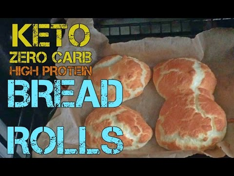 Video KETO | Zero Carb | Bread Rolls  - Cooking with Curtis