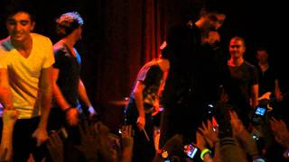 The Wanted - Invincible & Rocket (Live 1/17/2012)