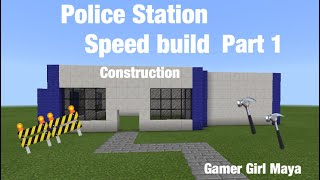how to build a modern police station in minecraft - 免费在线