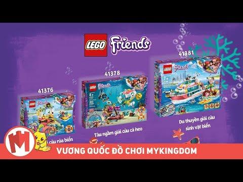 Quảng cáo đồ chơi lắp ráp LEGO FRIENDS | Giải cứu thế giới biển