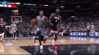 James Harden'dan DeMar DeRozan'a NBA tarihinin en cool savunma ve bloğu 👀