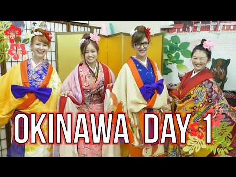 Okinawa DAY 1 💮 Kimono and Castles