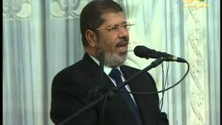 preview picture of video 'Egypt's Mursi speech to the Sudanese people in Khartoum كلمة الرئيس المصري في الخرطوم'
