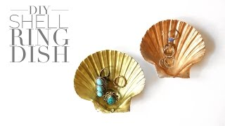 DIY Shell Ring Dish