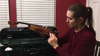3 Fiddlerman Soloist Violins for Jeff - hmong video