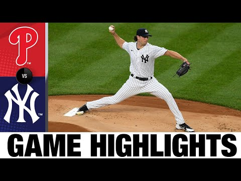 Homers lead Yankees to 6-3 win | Phillies-Yankees Game Highlights 8/3/2020
