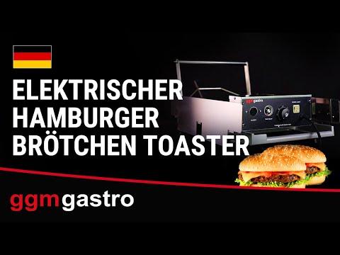 Elektrischer Hamburgerbrötchen Toaster