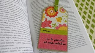 Bookmark (Transfer) - Marcapáginas (Técnica transfer)