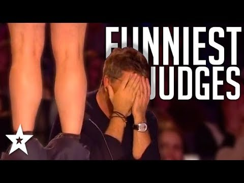 JUDGES GO WILD | Hilarious Auditions On Britain And America's Got Talent! | Got Talent Global