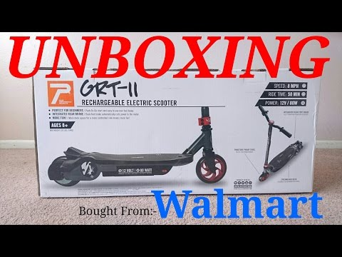 PULSE ELECTRIC SCOOTER GRT-11 UNBOXING & ASSEMBLE
