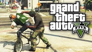 GTA 5 THUG LIFE #58 - STEALING FROM GANGSTAS! (GTA V Online)